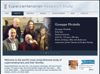 Supercentenarian Research Study